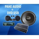 PAHE AUDIO + HEAD UNIT DVD USB